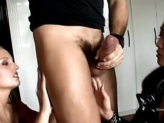 Rocco Siffredi sex with an asian latex dressed