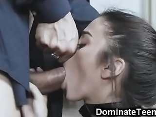Teen Brutally Dominated and Slapped!