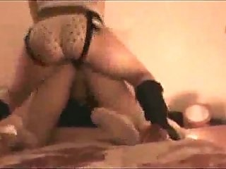 Wife Use a Strap and Teaches Her Hubby how to Fuck