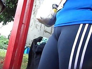 Candid Booty Culo Bunda Rabuda Suplex Spandex Lycra voyeur pawg - Premium 22