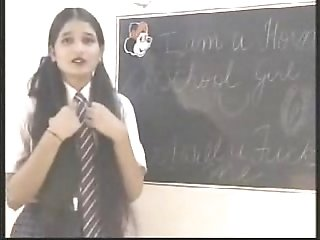 Naughty indian college girl punished